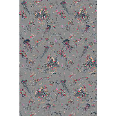 17 Patterns Jellyfish Wallpaper - Grey - ROLL - In Stock