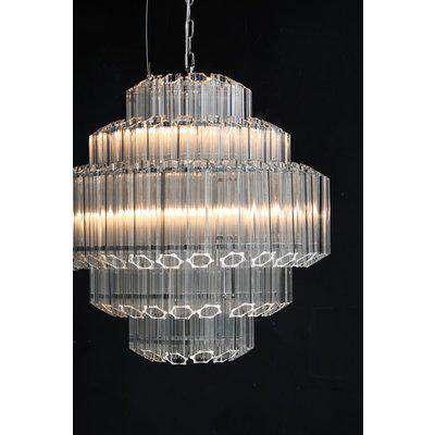 Stunning Art Deco Crystal Chandelier