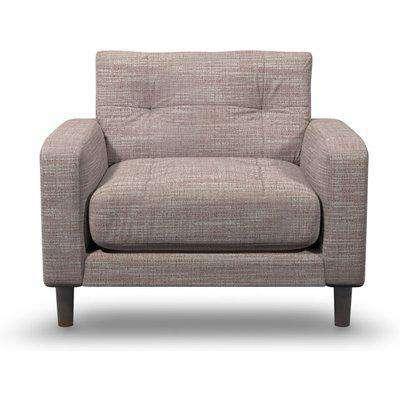 Suave Boucle Fabric Armchair