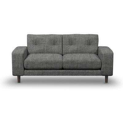 Suave Small 2-Seater Sofa In Alabaster Boucle Fabric