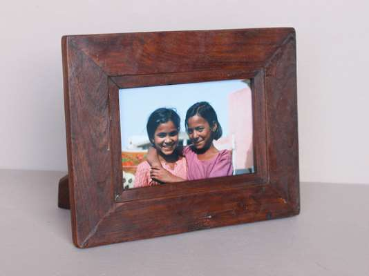 Brown Photo Frame Brown Extra Small