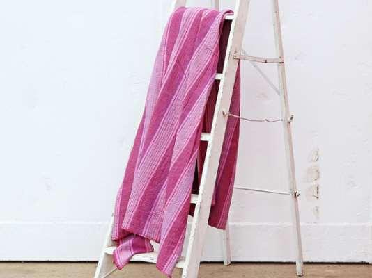Purple Cotton Bed Cover -Super King