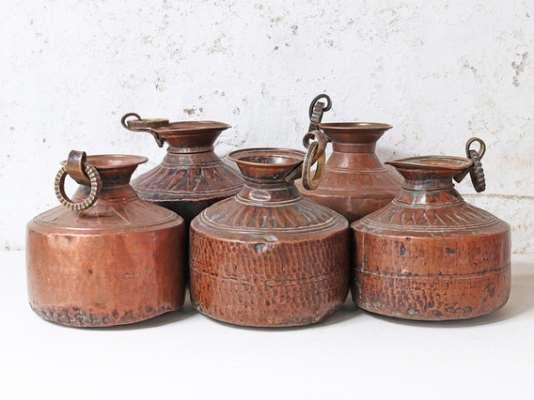 Handcrafted Vintage Copper Pot