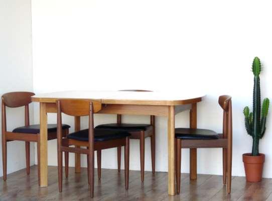 Retro Dining Table By Quitmann Brown Medium