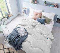 Fine Bedding Co Night Owl Coverless Duvet Cloud Grey Double