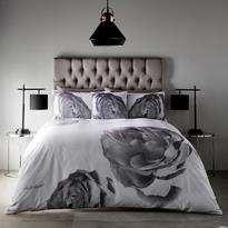 Karl Lagerfeld Pixel Rose Housewife Pillowcase Pair