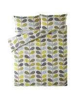 Orla Kiely Scribble Stem Duckegg Seagrass Duvet Cover Super King