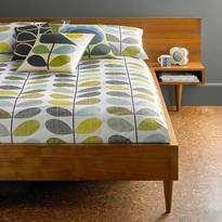 Orla Kiely Scribble Stem Duckegg Seagrass Duvet Cover King