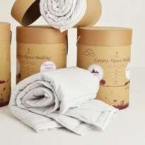 Penrose Organic Alpaca Wool Mattress Topper