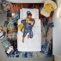 Snurk Superhero Duvet Cover & Pillowcase