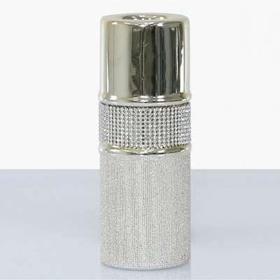 Deco Home 20.5cm Glitz And Champagne Tealight Holder