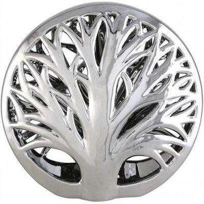 Deco Home 31cm Tree Decoration Silver