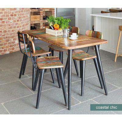 Baumhaus Coastal Chic Large Rectangular Dining Table