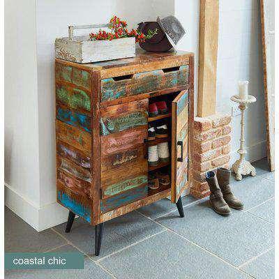 Baumhaus Coastal Chic Shoe Cupboard