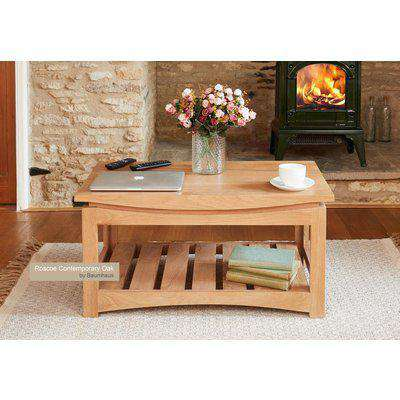 Baumhaus (CRESCT) Roscoe Contemporary Oak Coffee Table