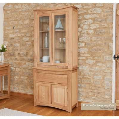 Baumhaus (CRESSMSBT) Roscoe Contemporary Oak Glazed Display TOP ONLY