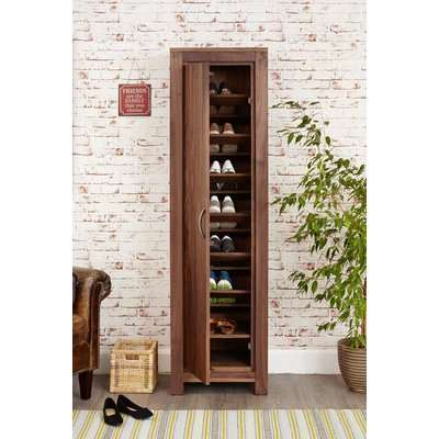 Baumhaus Mayan Walnut Extra Large Shoe Cupboard