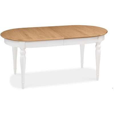 Bentley Hampstead 6-8 Two Tone Extending Dining Table