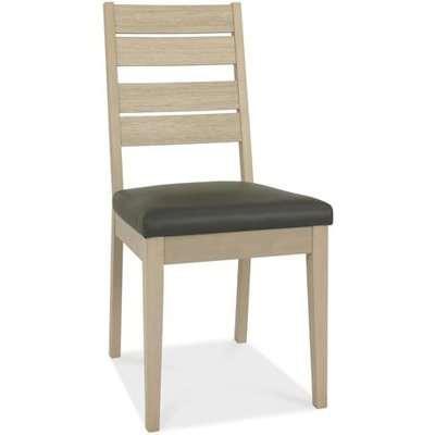 Bentley Oakham Slat Scandi Oak Square Dining Chairs