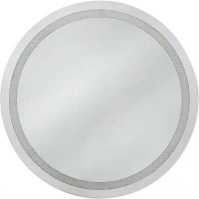 Deco Home Diamond Crush Large Round Mirror