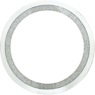 Deco Home Diamond Crush Small Round Mirror