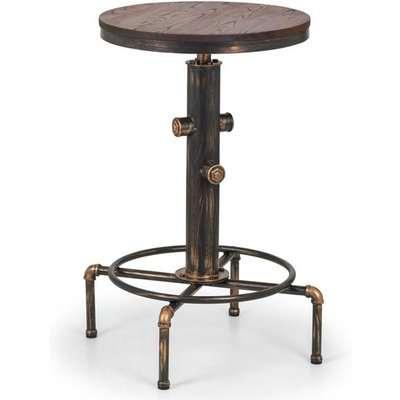 Julian Bowen Rockport Pipework Bar Table