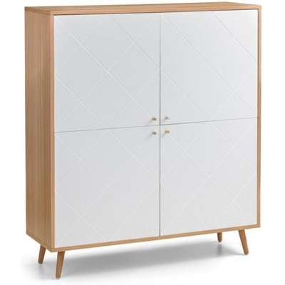 Julian Bowen Moritz 4 Door Display Cabinet