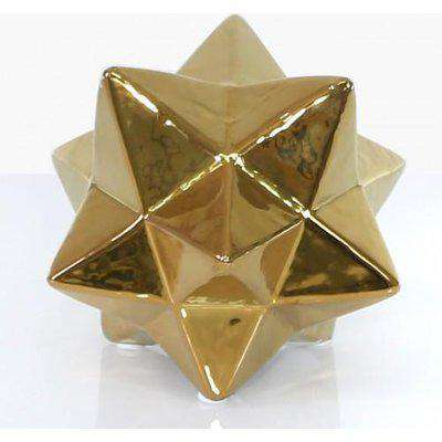 Deco Home Large Gold Star Ornament
