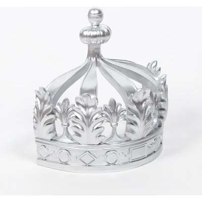 Maison Reproductions Canopy Crown Wall Hanging / Silver