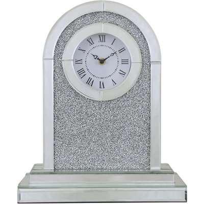 Deco Home Makayla Mirror Table Clock