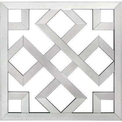 Deco Home Mirror 80x80 Geo Wall Art