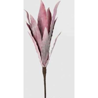 Deco Home Pink Foam Single Stem Flower