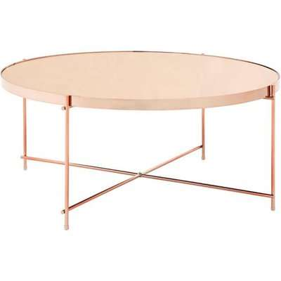Teddy's Collection Axel Rose Gold Mirror Coffee Table