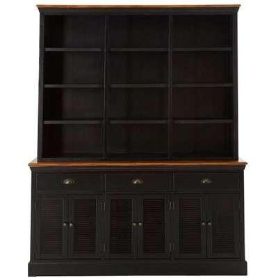 Teddy's Collection Veron Black Dresser Cabinet