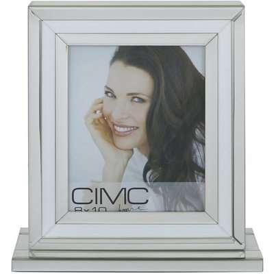 Deco Home Valetta Diamond Crush Silver Large Photo Frame