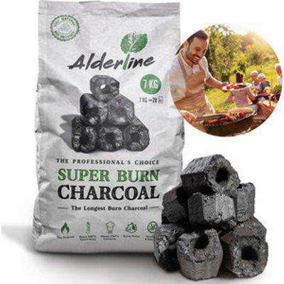 Alderline Superburn BBQ Charcoal Briquettes 7kg