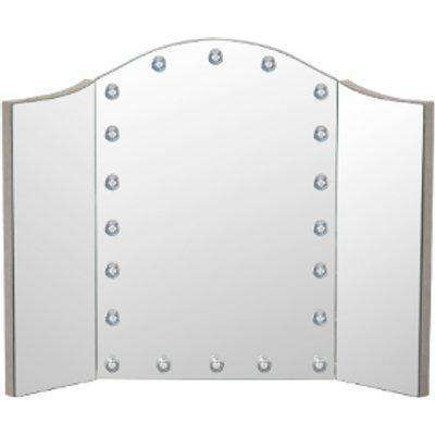 All Glass Glam LED Dressing Table Mirror -