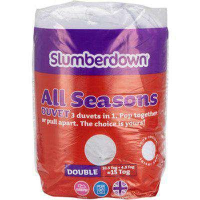 All Seasons Duvet 4.5 & 10.5 Tog  - Double