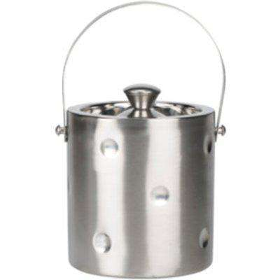 Apollo Double Wall Ice Bucket  - Silver