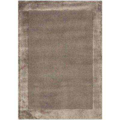Ascot Wool Rug - Taupe / 80cm