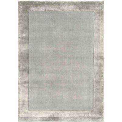 Ascot Wool Rug - Silver / 120cm