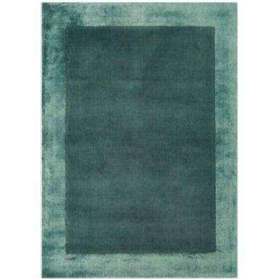 Ascot Wool Rug - Aqua Blue / 120cm