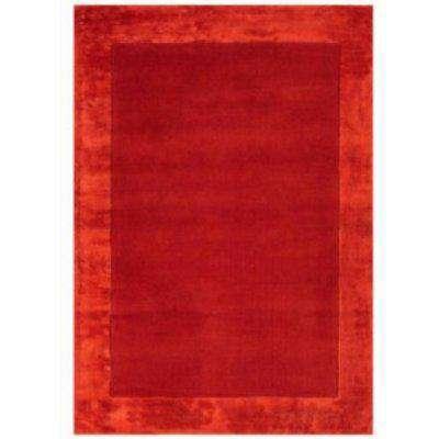 Ascot Wool Rug - Red / 200cm