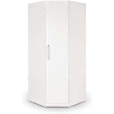 Ashburton Corner Wardrobe - White / White
