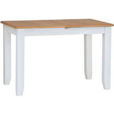 Ashford 1.2M Butterfly Extending Dining Table - Pure White
