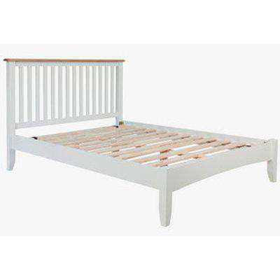 Ashford  Wooden Bed - Pure White / Double