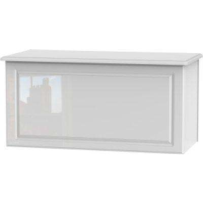 Balmoral White Gloss Blanket Box