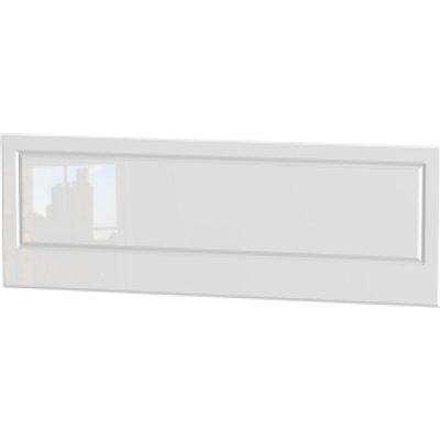 Balmoral White Gloss Headboard - White Gloss / King