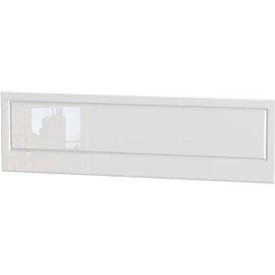 Balmoral White Gloss Headboard - White Gloss / Super King