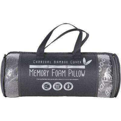 Bamboo Cover Memory Foam Pillow - Charcoal